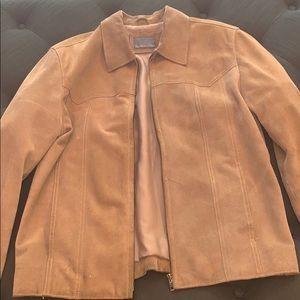 Garwood Distressed Leather Jacket